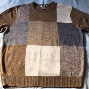 Geoffrey Beene Men's Long Sleeves Sweater. Size L